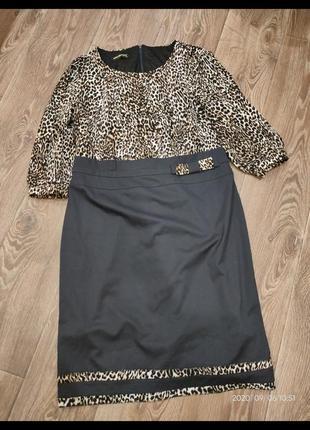 Шикарное платье р.50-54