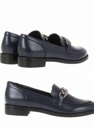 Шикарные туфли лоферы, 37 размер, фирма karco