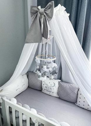 Бортики в ліжечко