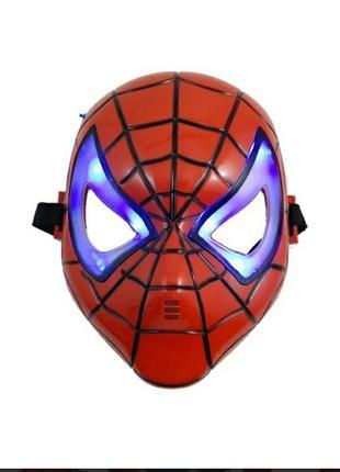 Набор спайдермен маска и фигурка
