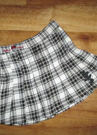 Теплая фирменная юбка h&m , рост 116 см