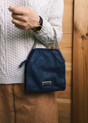 Стильная джинсовая сумочка