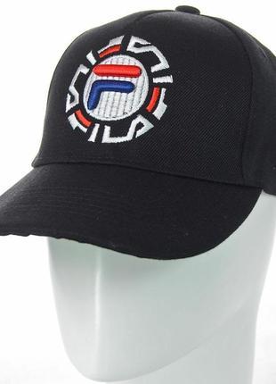Спортивная кепка бейсболка fila мужская женская