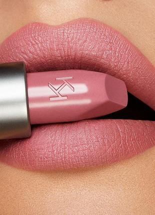 Кремовая матовая помада kiko milano velvet passion matte lipstick 315
