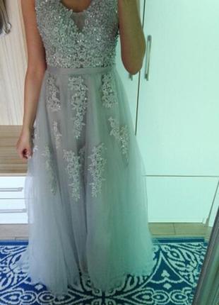 Шикарное новое  вечернее платье , для  новогодней фотоссесии5 фото
