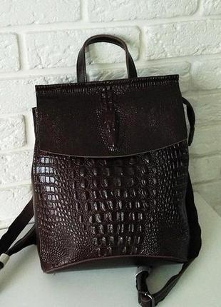 Натуральная кожа! рюкзак