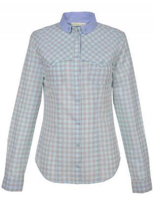 Мятная женская рубашка top secret