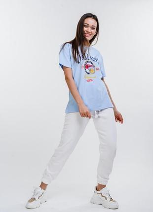 Свободная футболка с принтом oakland3 фото