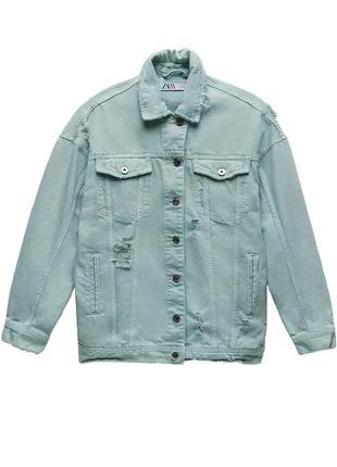 Новая женская джинсовая куртка zara xs s l xl zara жіноча куртка xs s куртка zara