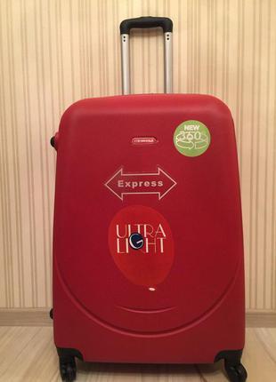Самовывоз с 9 до 2200 чемодан gravitt пластиковый все цвета в наличии