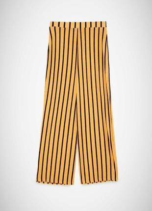 Брюки палаццо/летние брюки в полоску