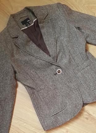 Стильный пиджак жакет делового стиля h&m