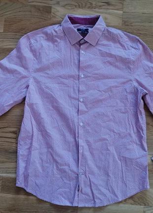 Рубашка kiabi regular fit франция размер m /l