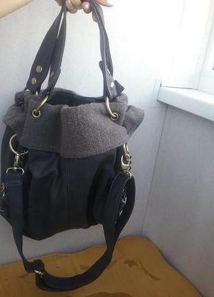 Стильная сумка с короткой ручкой и через плечо цепи качество супер бренд оригинал