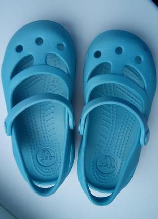 Кроксы, босоножки crocs c8