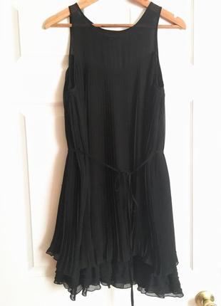Платье плиссе коктейльное в стиле 20х