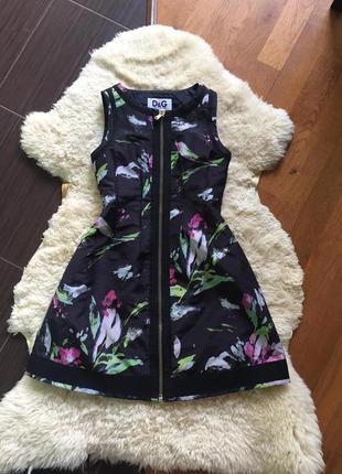 Очень красивое платье dolce&gabbana оригинал