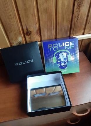 Большая подарочная коробка духи police