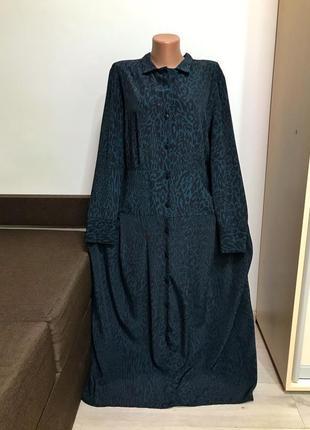 Трендовое стильное платье макси