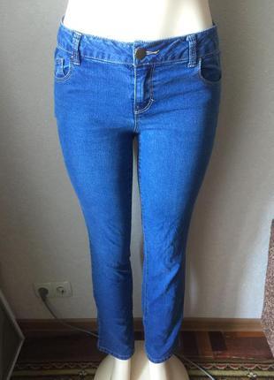 Синие джинсы с высокой посадкой бойфренды dorothy perkins