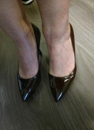 Лаковые туфли nine west