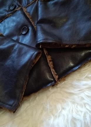 Весенне-осенняя стёганая куртка косуха на меху h&m5 фото