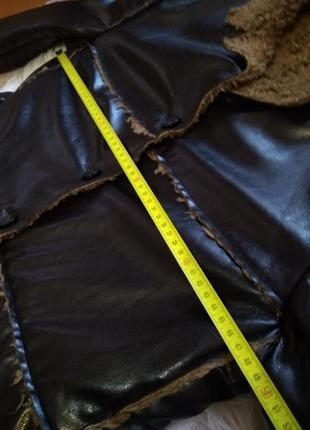 Весенне-осенняя стёганая куртка косуха на меху h&m9 фото