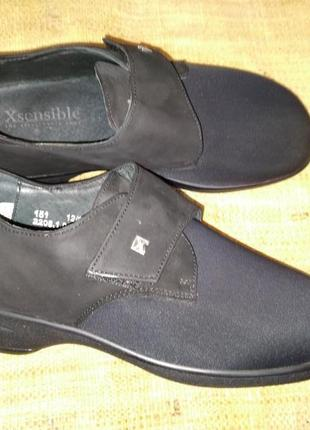 5р-25 см экстралегкие мягкие туфли xsensible made in portugal