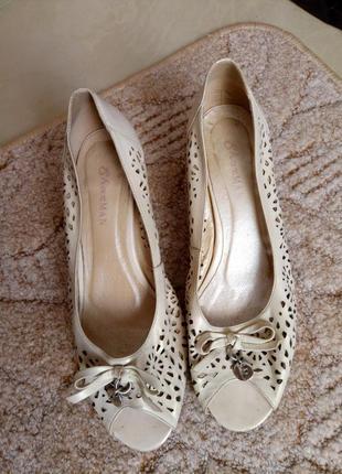Мягусенькие туфли, босоножки, 40, кожа