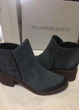 Кожаные ботинки mammamia