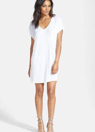Белое платье xs