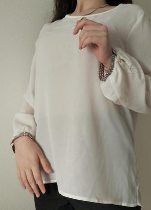 Шифоновая блуза p.l.  ellen amber