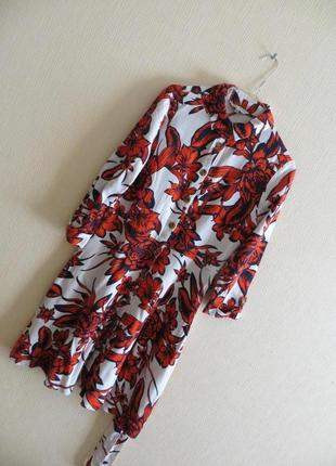 Льняное платье nutmeg (р.м)