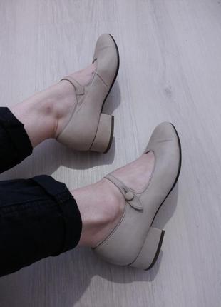 Туфельки принцессы gabor нубук