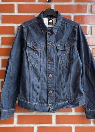 G-star raw arc 3d jkt мужской джинсовый пиджак джинсовка размер m г стар б у
