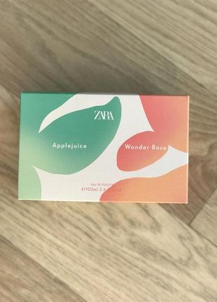 Wonder rose + applejuice від zara