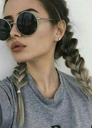 Новые женские круглые солнцезащитные очки