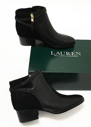 Кожаные ботинки ralph lauren оригинал из сша