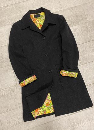 Итальянское винтажное пальто