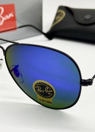 Ray ban солнцезащитные очки авиаторы черные