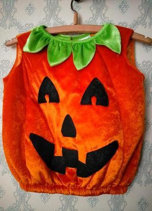 Карнавальный костюм на хеллоуин тыква