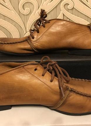 Туфли, туфли на шнурках, туфли кожаные