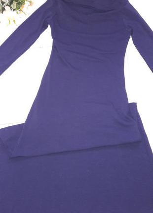 Платье макси плотное olko