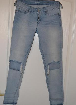 Levis джинс оригинал светло синий