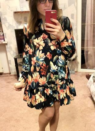 Платье с оборками (vivid store)