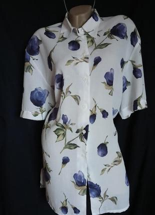 Чудная блуза из фактурной ткани от biaggini.отличное качество!