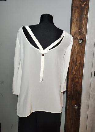 Шовкова блуза liu jo преміум бренд шелковая