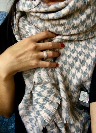 Шикарный теплющий шарф,платок,хомут