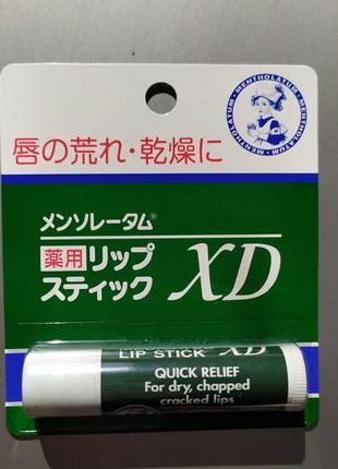 Гигиеническая помада с omi mentholatum япония