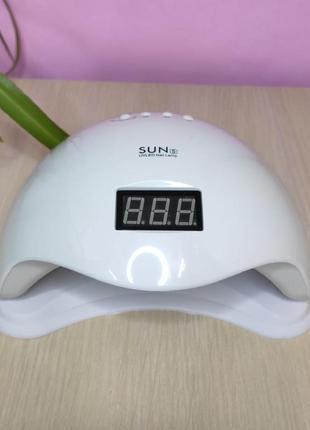 Мощная гибридная ультрафиолетовая led лампа sun5 (48 вт)